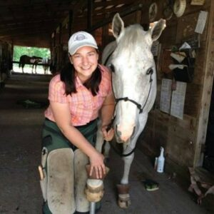 Beth Lynn Lewis, Equibalance Farrier Services, Ossipee NH